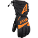 Black/Orange Fuel Gloves