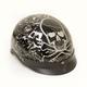 Black Boneyard Beanie Half Helmet