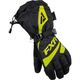 Womens Black/Hi Vis Fusion Gloves