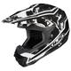 Black/Silver/White Hydron CL-X6 Helmet