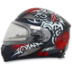Red FX-90SE Danger Helmet w/Electric Dual Lens Shield