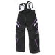 Womens Black/Purple Velocity Pants