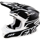 Black and White Blade Helmet