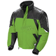Youth Green/Black/Silver Storm Snowmobile Jacket