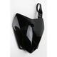 Black Front Number Plate - KA04718-001