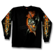 Electric Skull Long Sleeve T-Shirt