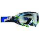 Black/Blue/Green Wired Hero Goggles - 2601-1728