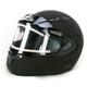 Matte Black CL-MAXIIBTSN Modular Helmet w/Electric Shield
