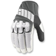 White Overlord Mesh Gloves