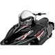 11 1/2 in. Low White/Black Windshield with Graphics - 11921