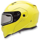 High-Vis Yellow Revolver Evo Snow Helmet