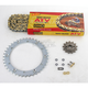 520 Quad Z-Ring Chain and Sprocket Kit - 5QUAD092KYA001