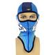 Blue/Hi Vis Turbo Balaclava - 15730.40700