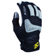 Womens Black/Gray Savanna Gloves