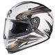 White/Gray/Silver Evoke RPHA-10 Helmet