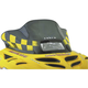 12 in. Low Black/Yellow Windshield - 13120