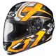 Black/Dark Silver/Yellow Shock CL-16 Helmet