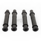Satin Black Pushrod Tube Kit - 0928-0044