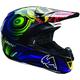 Black/Purple/Green Force Ripple Helmet