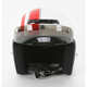 White/Red Jimmy Retro Helmet