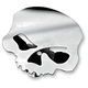 Chrome Skull Horn Cover - 609992