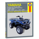 Yamaha Kodiak/Grizzly Repair Manual - 2567