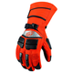 Orange Comp 8 Gloves