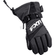Youth Black Helix Race Gloves