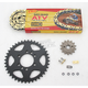 520 Quad Z-Ring Chain and Sprocket Kit - 5QUAD112KKA0