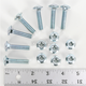 Bolt Kit for Moose Plastic Utility Blade Wear Bars - 4501-0317