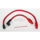 Red 409 Pro Race Wires w/180 Degree Boot - 49233