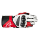 White/Red/Black SP-8 Leather Glove