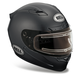 Matte Black Vortex Snow Helmet with Electric Shield