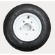 K371 4-Ply 4.80/4.00-8 Tire W/5-Hole Solid Wheel Assembly - 30020