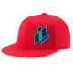 Red Double Up Hat
