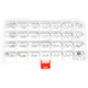 10mm Complete Valve Shim Kit - 0926-1829