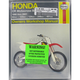 Honda Dirtbike Repair Manual - 2222