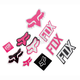 Pink Track Pack Sticker Sheet - 14935-170-NS