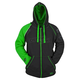 Green/Black United By Speed Armored Hoody