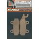 XCR Sintered Metal Brake Pads - 1721-0624