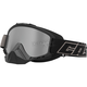 Matte Black Force Snow Goggles w/Mirrored Dual Lens - 64-1502