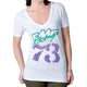 Womens White Grizzly T-Shirt