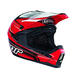 Youth Red Quadrant Stripe Helmet