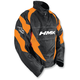 Orange Throttle Pullover Jacket