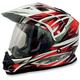 Red Multi FX-39DS Dual Sport Helmet