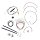 Stainless Braided Handlebar Cable and Brake Line Kit for Use w/15 in. - 17 in. Ape Hangers - LA-8010KT2-16