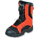 Orange Voyager Boa Boots