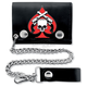 Skull and Guns 4 in. Wallet - WLB1016