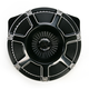 Black Bevelled Inverted Series Air Cleaner Kit - 18-935