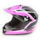 Pink/Black Assault Helmet